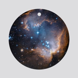 Starbirth region NGC 602 - Round Ornament