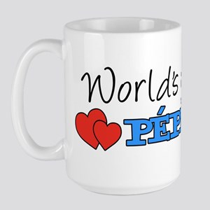 World's Greatest Pepere Large Mug