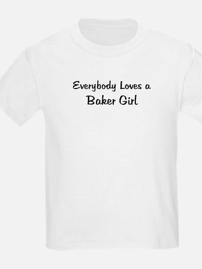 Baker Girl Kids T-Shirt