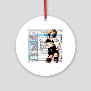 Internet pornography, conceptual artwork - Round O