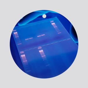DNA research - Round Ornament