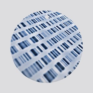 DNA sequences - Round Ornament