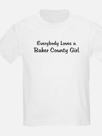 Baker County Girl Kids T-Shirt