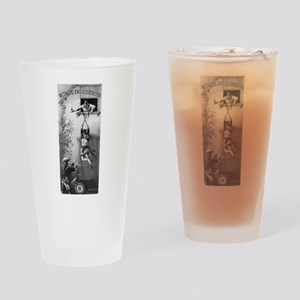 suspenders ad Drinking Glass