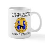 342nd Postal Company Coffee Cup