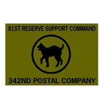 342nd AG Co Postcards (Package of 8)