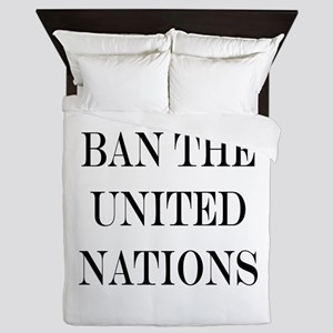 Ban the United Nations Queen Duvet