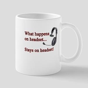 What Happens On Headset... Mug