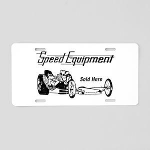 Speed Equipment sold here-1 Aluminum License P