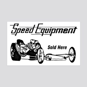 Speed Equipment sold here-1 35x21 Wall Decal
