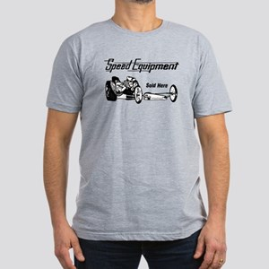 Speed Equipment sold here-1 Men's Fitted T-Shi