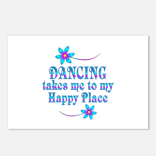 Dancing My Happy Place Postcards (Package of 8)
