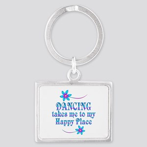 Dancing My Happy Place Landscape Keychain