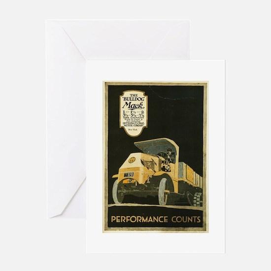 mack truck Greeting Card
