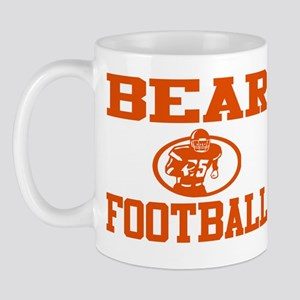 "BEAR ""ROCKET"" ORANGE Mug"