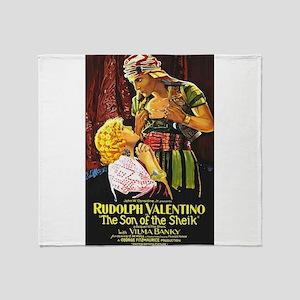 rudolph valentino Throw Blanket