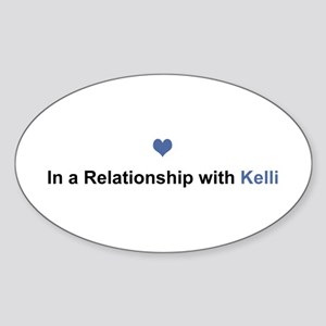 Kelli Relationship Oval Sticker