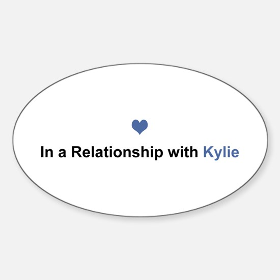 Kylie Relationship Oval Decal