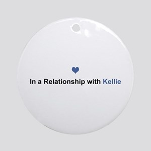 Kellie Relationship Round Ornament