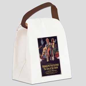 the son of the sheik Canvas Lunch Bag