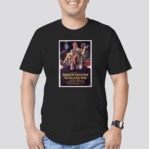 the son of the sheik Men's Fitted T-Shirt (dark)