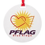 PFLAG Blue Ridge Logo Round Ornament