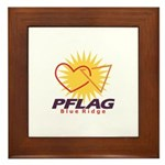 PFLAG Blue Ridge Logo Framed Tile