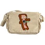Bacon Zombie Messenger Bag