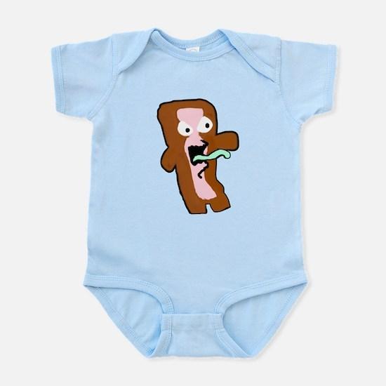 Bacon Zombie Infant Bodysuit