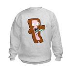 Bacon Zombie Kids Sweatshirt