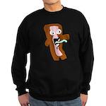 Bacon Zombie Sweatshirt (dark)