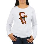 Bacon Zombie Women's Long Sleeve T-Shirt