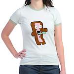 Bacon Zombie Jr. Ringer T-Shirt
