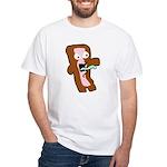 Bacon Zombie White T-Shirt