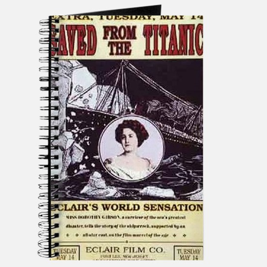 saved from the titanic Journal