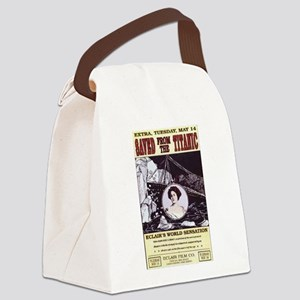 saved from the titanic Canvas Lunch Bag