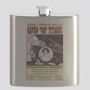 saved from the titanic Flask