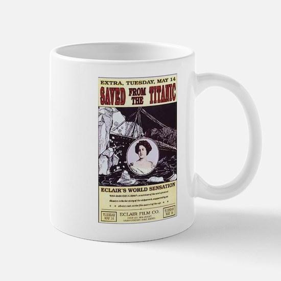saved from the titanic Mug