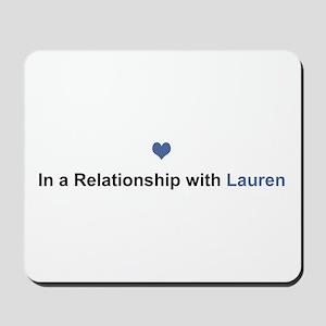 Lauren Relationship Mousepad