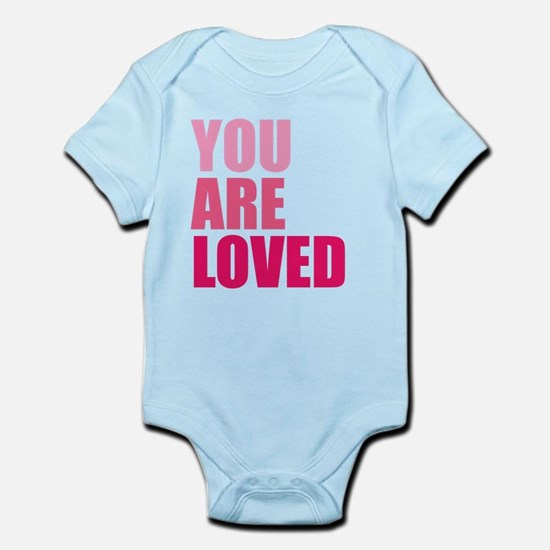 You Are Loved Infant Bodysuit