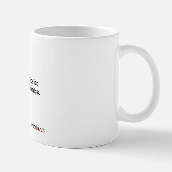 2d Law of Thermodynamics Mug