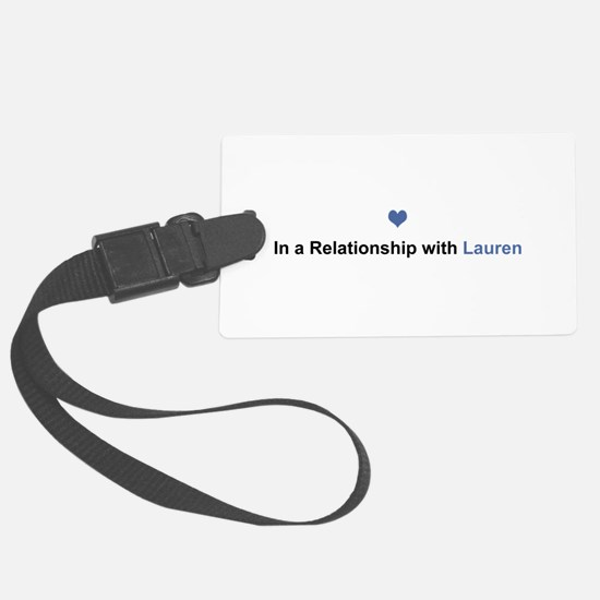 Lauren Relationship Luggage Tag