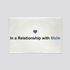 Malik Relationship Rectangle Magnet