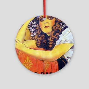 theda bara Ornament (Round)
