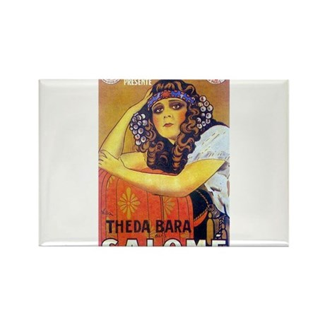 theda bara Rectangle Magnet (10 pack)