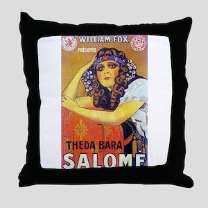theda bara Throw Pillow