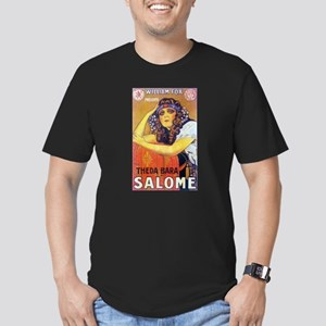 theda bara Men's Fitted T-Shirt (dark)