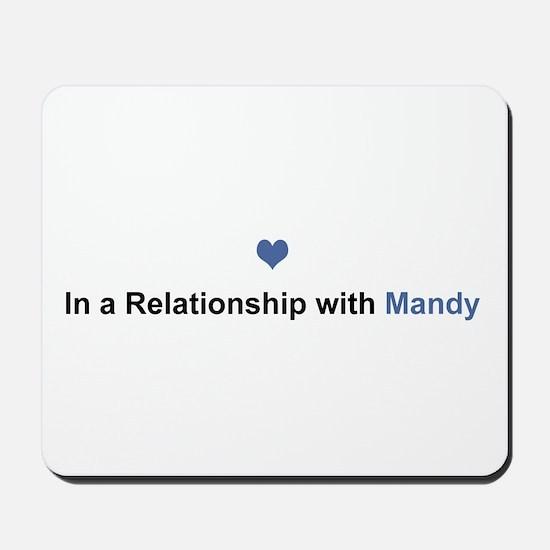 Mandy Relationship Mousepad