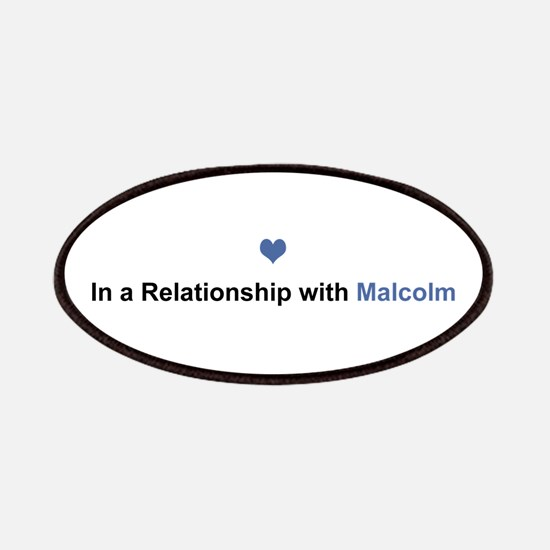 Malcolm Relationship Patch