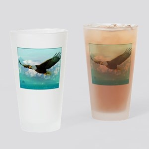 soaring eagle Drinking Glass